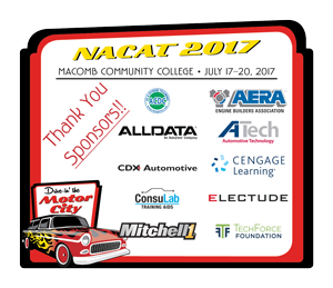NACAT Thank You to our Sponsors