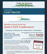 CAAT Tracks - Current Issue