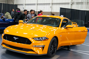 Auto STEAM students explore Mustang