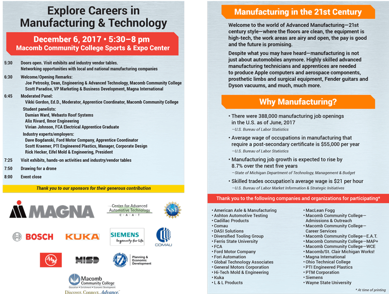 Explore Careers in Manufacturing and Technology