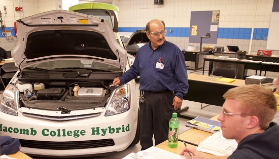 classroom hybrid vehicle